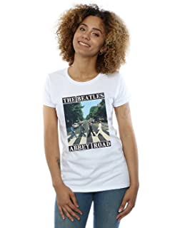The Beatles Mujer Abbey Road Camiseta