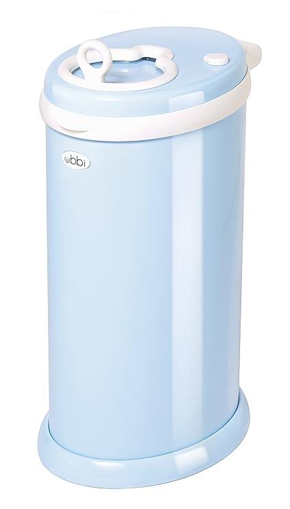 Ubbi U10002 - Contenedor de pañales, color azul