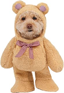 Rubieu0027s Adorable Walking Teddy Bear Dog Costume Hooded Animal Cat Pet XS SM MD LG XL  sc 1 st  Amazon.com & Amazon.com : Walking Teddy Bear Dog Costume Large : Pet Supplies
