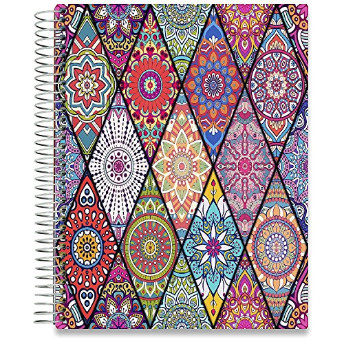Tools4Wisdom Planners 2018-2019 Daily Planner - 8.5 x 11 Hardcover - Dated April 2018 to June 2019 Academic Year Calendar - Plan for a Happy Life Filled with Passion by Setting Goals