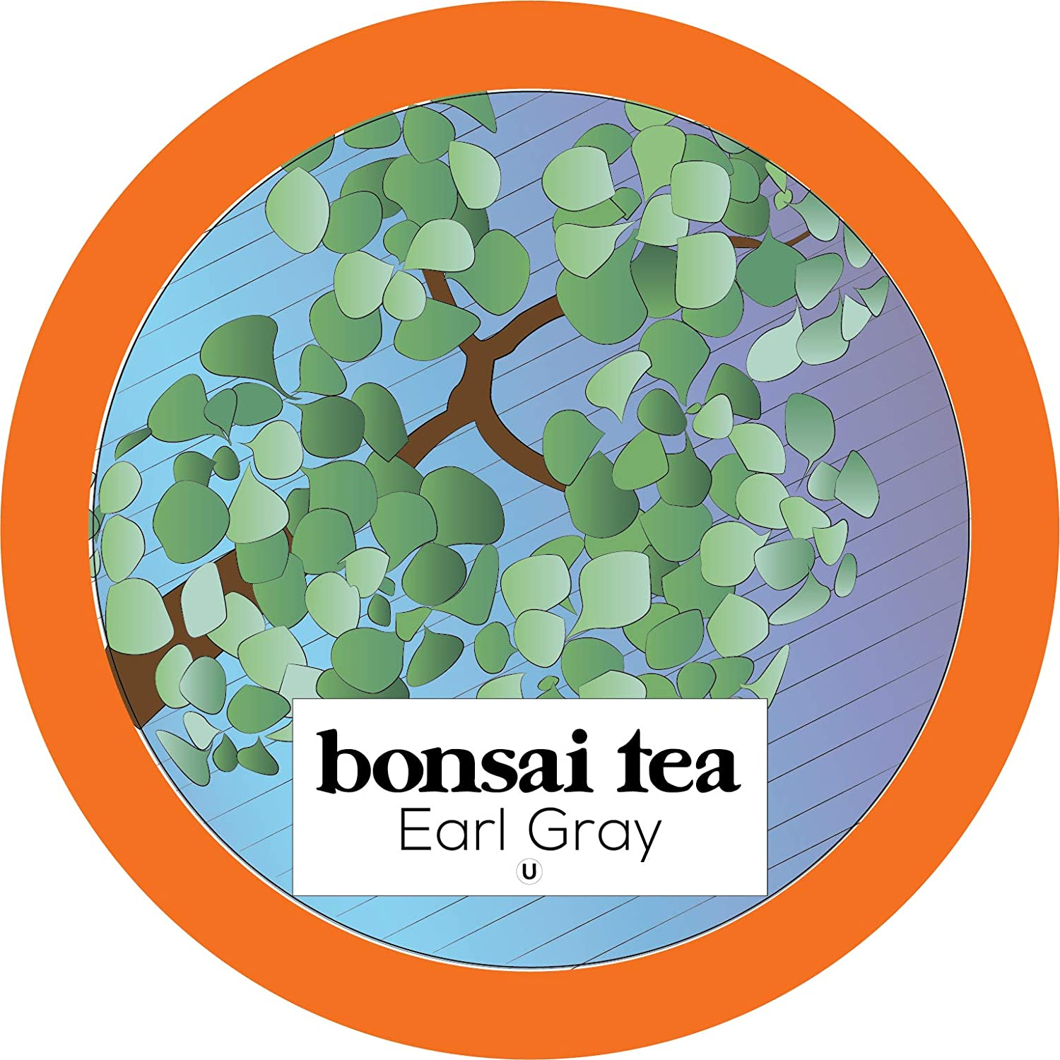 Bonsai Tea Co. Earl Grey, Compatible with 2.0 Keurig K Cup Brewers, 100Count