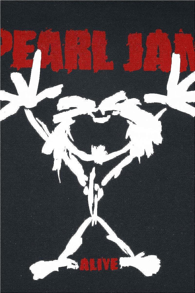 Pearl Jam Stickman T-Shirt Manches Courtes Noir