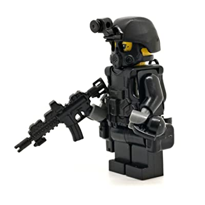 Modern Brick Warfare Special Forces Soldier Recoil Custom Minifigure: Toys & Games [5Bkhe1402013]