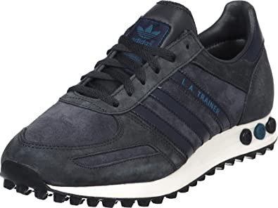 D65663|Adidas LA Trainer Carbon|46 UK 11: : Schuhe