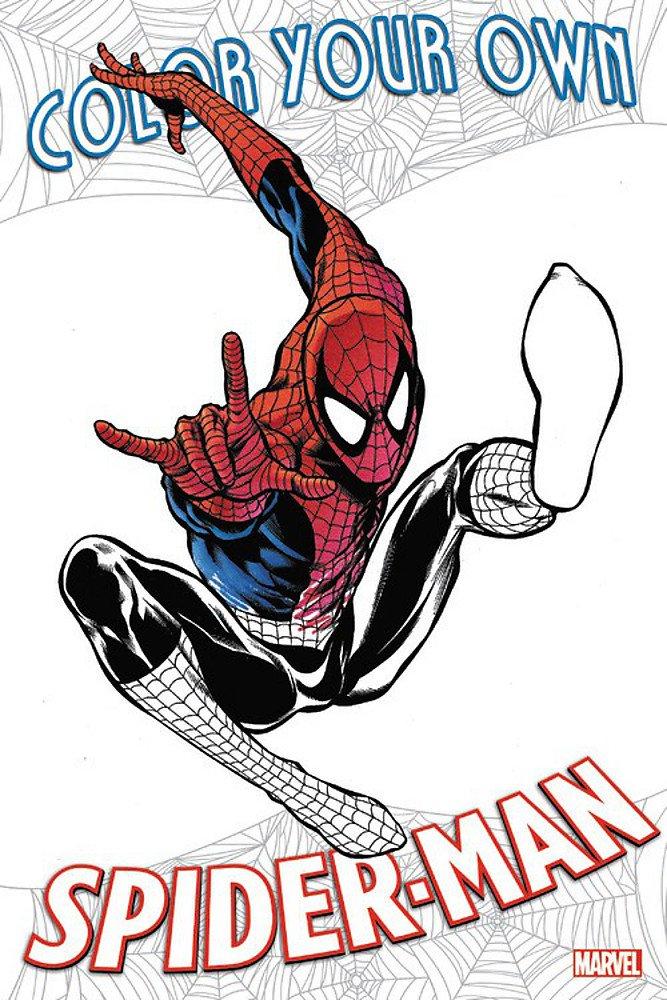 Color Your Own Spider-Man PDF ePub fb2 book
