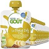 Good Goût Le Petit Déj Poire Bio Dès 6 Mois 70 g - Pack de 10