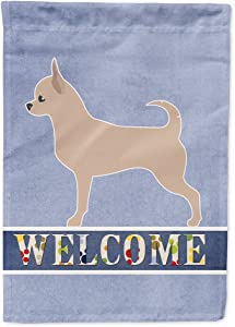 Caroline's Treasures BB5554GF Chihuahua Welcome Flag Garden Size, Small, Multicolor