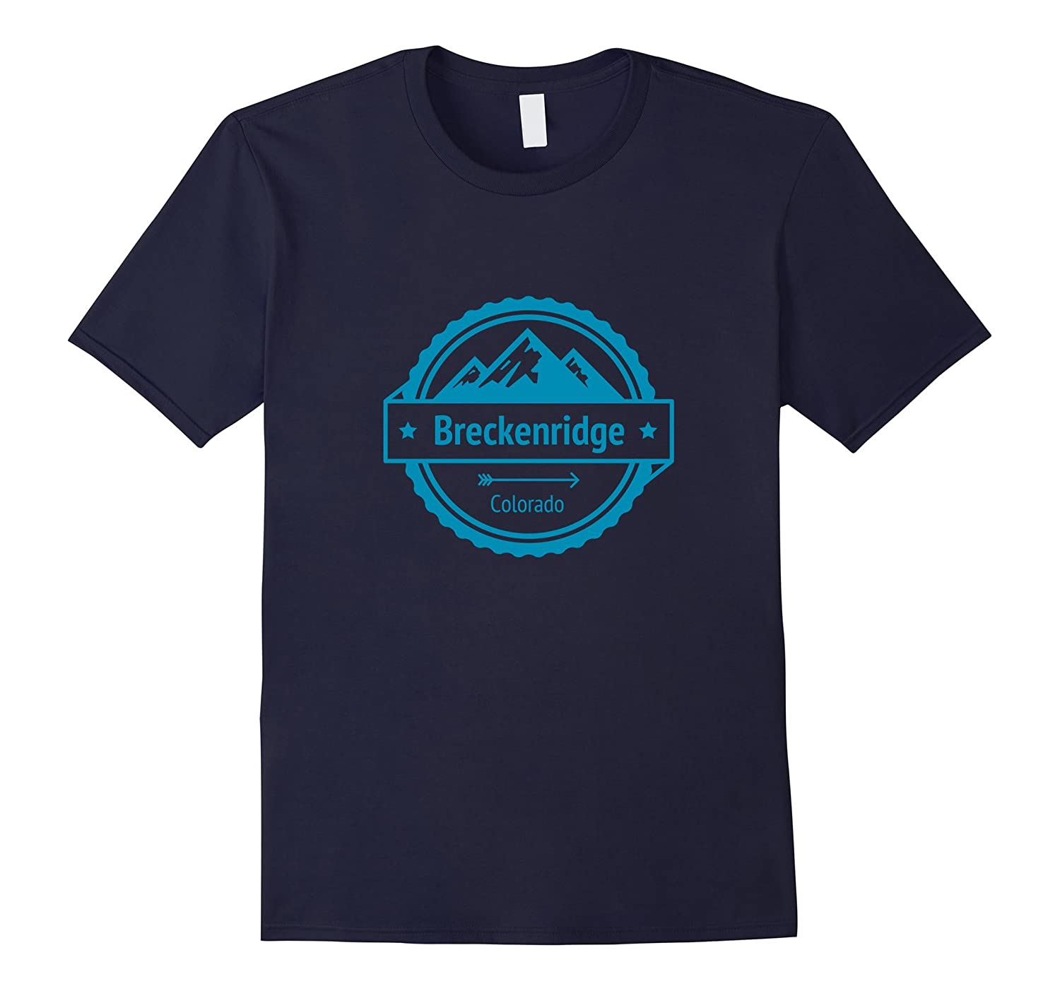 Breckenridge Colorado - Ski and Snowboard Mountain T-Shirt-RT