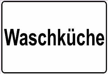Schild Hinweisschild Hinweis Waschkuche Waschen Wasche Waschraum
