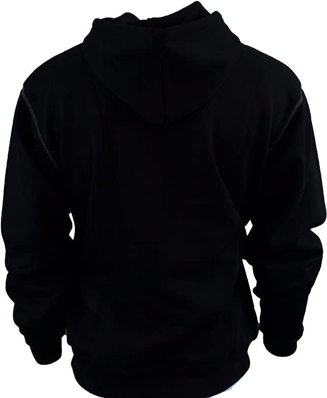 DWC47-001 DeWalt Work Wear Black Warm Hooded Sweat Shirt Jumper