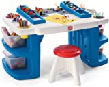 Step2 Build And Store Block And Activity Table  sc 1 st  Amazon.com & Amazon.com: Crayola Wooden Table And Chair Set: Toys u0026 Games