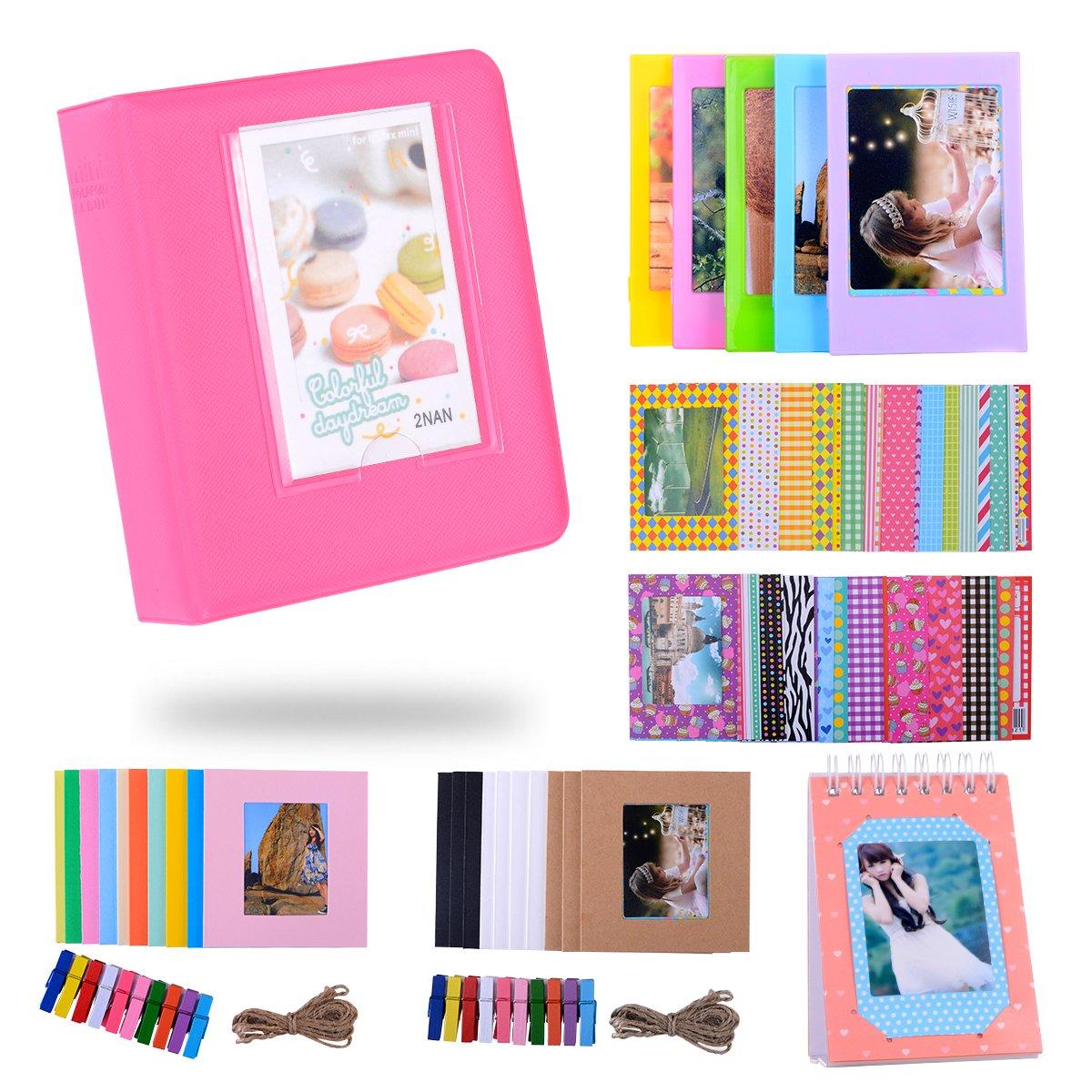 Kaka Film Rahmen Bundles Set Fr Hp Sprocket Portable Fotodrucker Fujifilm Instax Mini Album Kamera Polaroid 2nan Colorful Zip Mobiler Drucker Snap Instant Digitalkamera Mit Frames