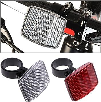Manyo - Reflector para bicicleta con manillar reflectante ...