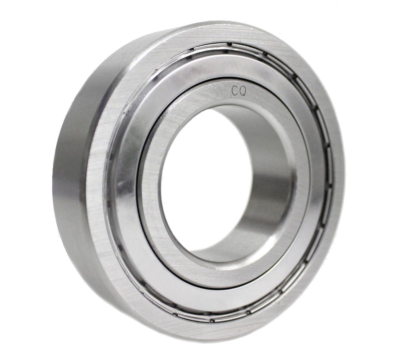 6005 ZZ//6005z Kugellager 25x47x12 mm Industriequalit/ät DIN625-1 mit G10-Pr/äzisionskugeln//Innendurchmesser 25mm