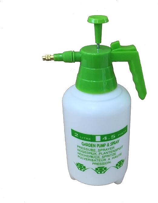 Bomba pulverizador (pulverizador pulverizador pulverizador para plantas de jardín (2 l): Amazon.es: Jardín