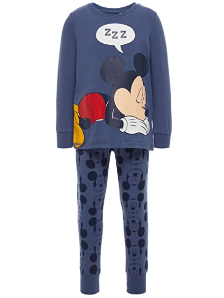 NAME IT Pijama NIÑO Mickey - 92, Vintage Indigo