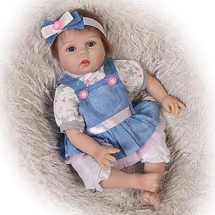 Hope 22 Pulgadas Reborn Baby Doll Realista Silicona Baby ...