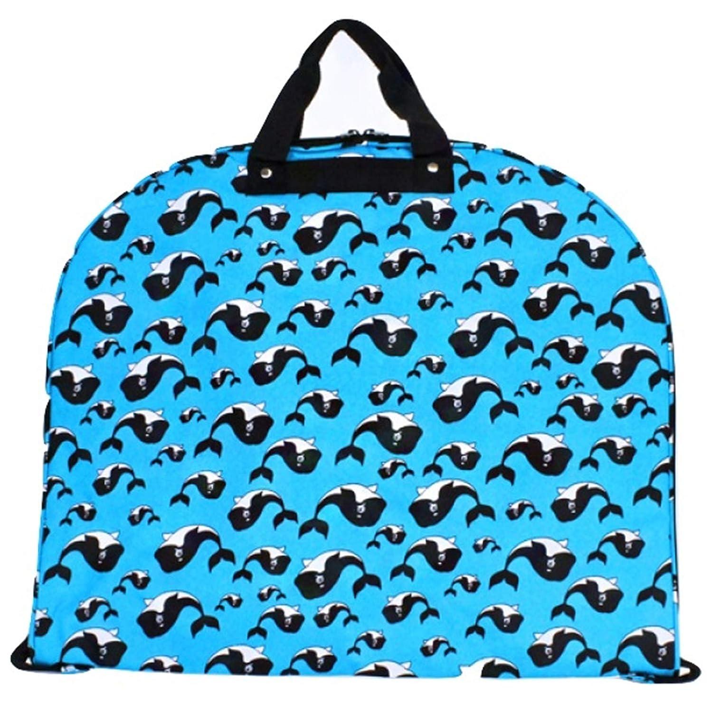 Whale Print Garment Bag Travel Luggage