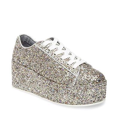 Steve Madden Women's Karuso Glitter Multi Casual ...