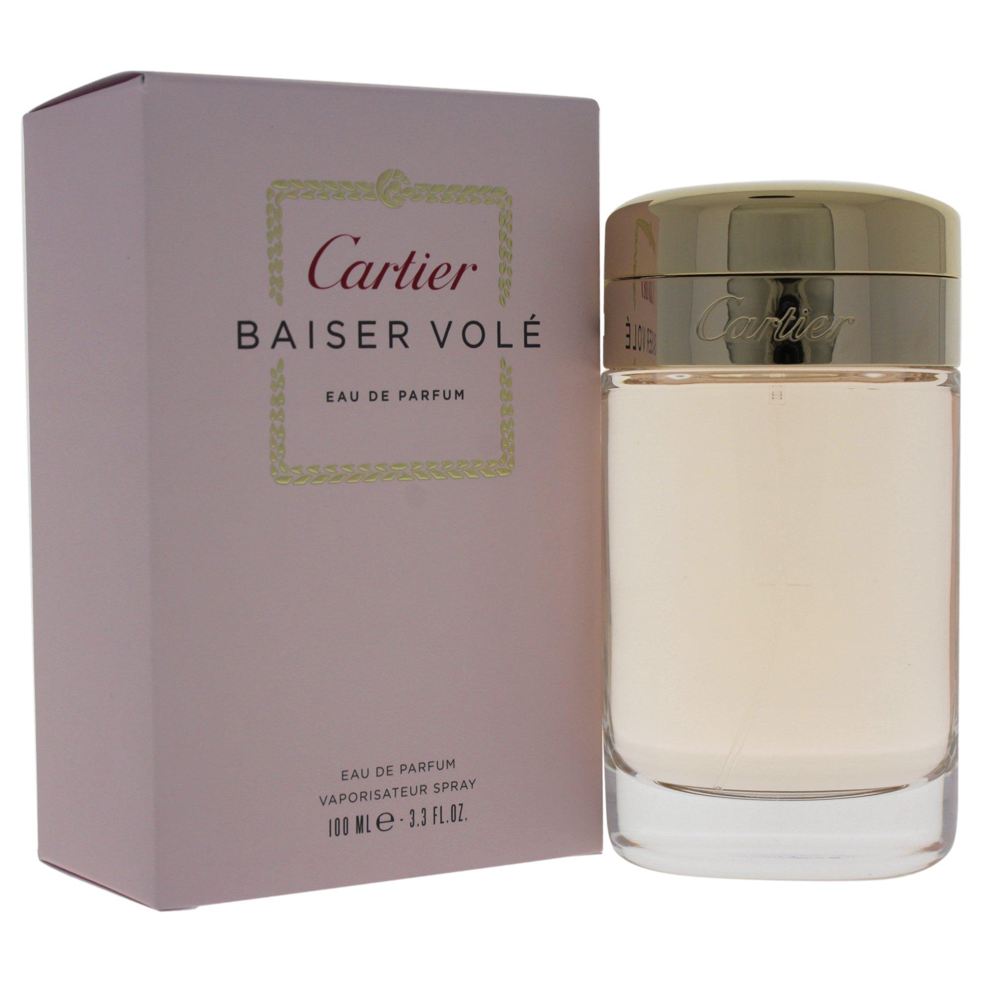Cartier Baiser Vole Eau De Perfume Spray for Women, 3.3 Ounce