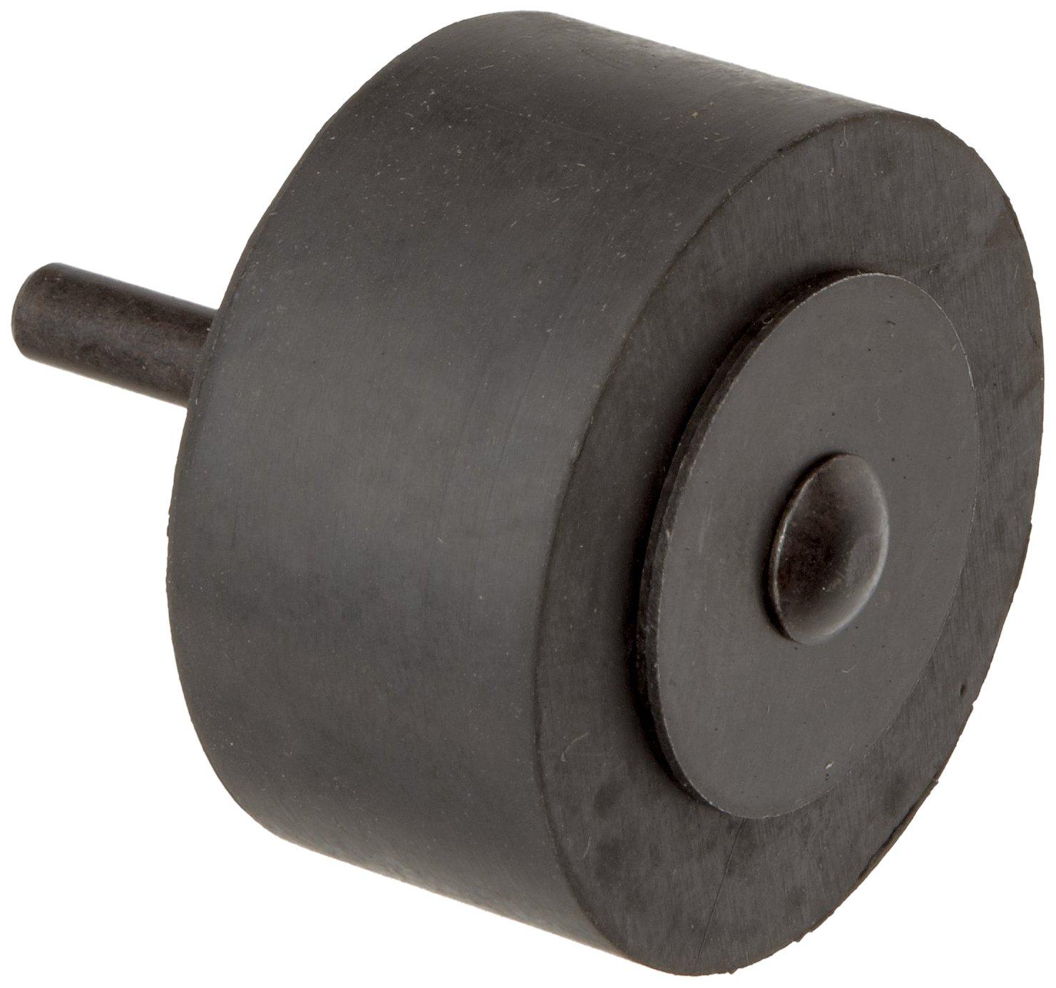 Merit Rubber Expanding Drum for Sanding Sleeves, 1/4' Shank Diameter, 2' Drum Diameter x 1' Drum Width 1/4 Shank Diameter 2 Drum Diameter x 1 Drum Width St. Gobain Abrasives 08834196926