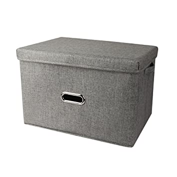 PDR Caja de Almacenamiento de Tela Plegable Cubos de Cesta para Juguetes, Ropa, Libros, Ropa de Cama, Arte y Manualidades: Amazon.es: Hogar
