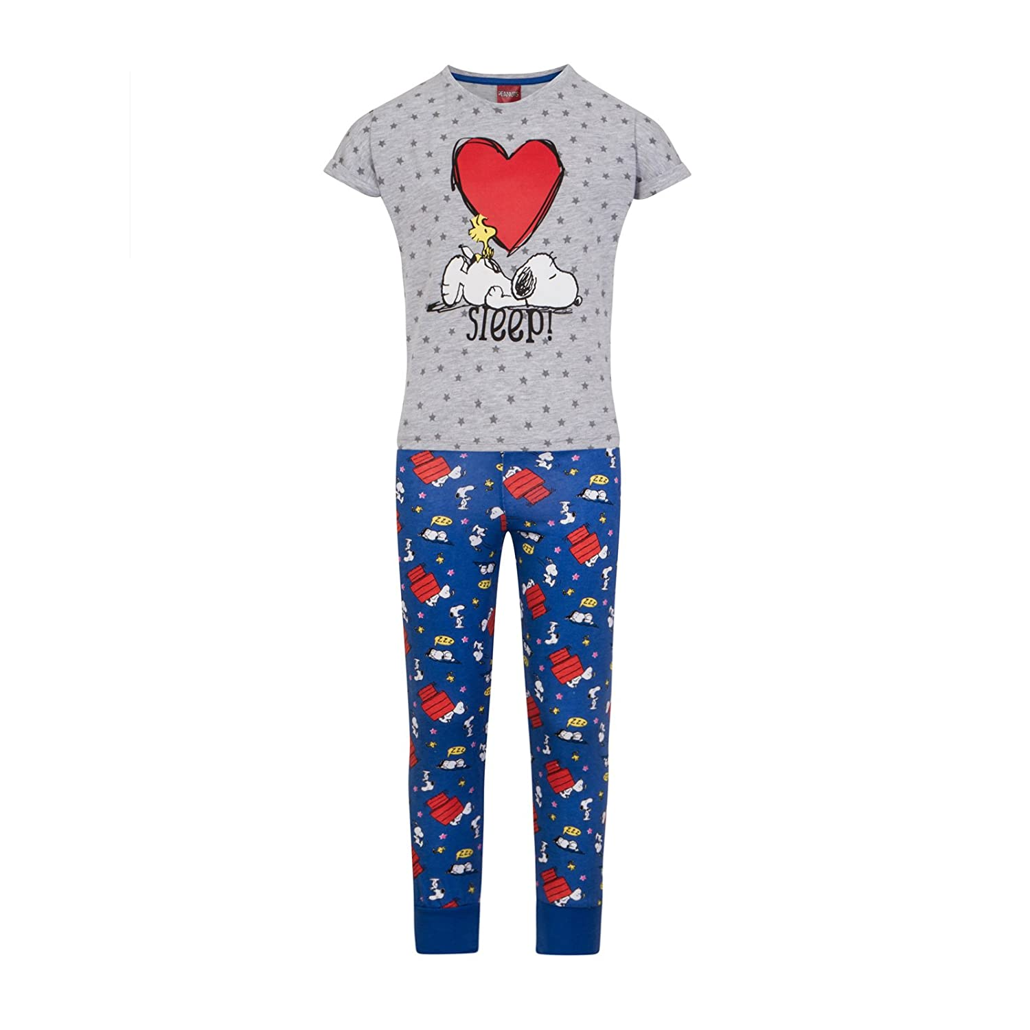 Peanuts Snoopy Official Gift Girls Pajamas