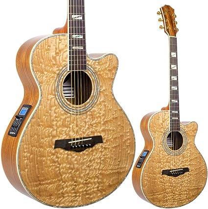 Lindo LDG-B02CNL Master of Tone Series Piebald - Guitarra acústica ...