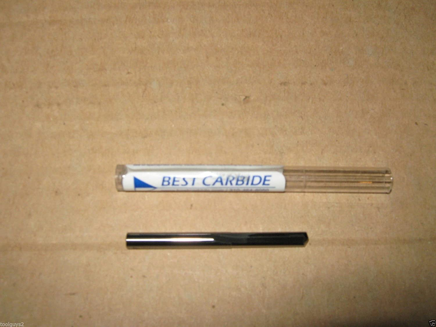 """.1285 SOLID CARBIDE STRAIGHT FLUTE 140DEG NOTCHED POINT DRILL BIT /""""NEW/"""" # 30"""