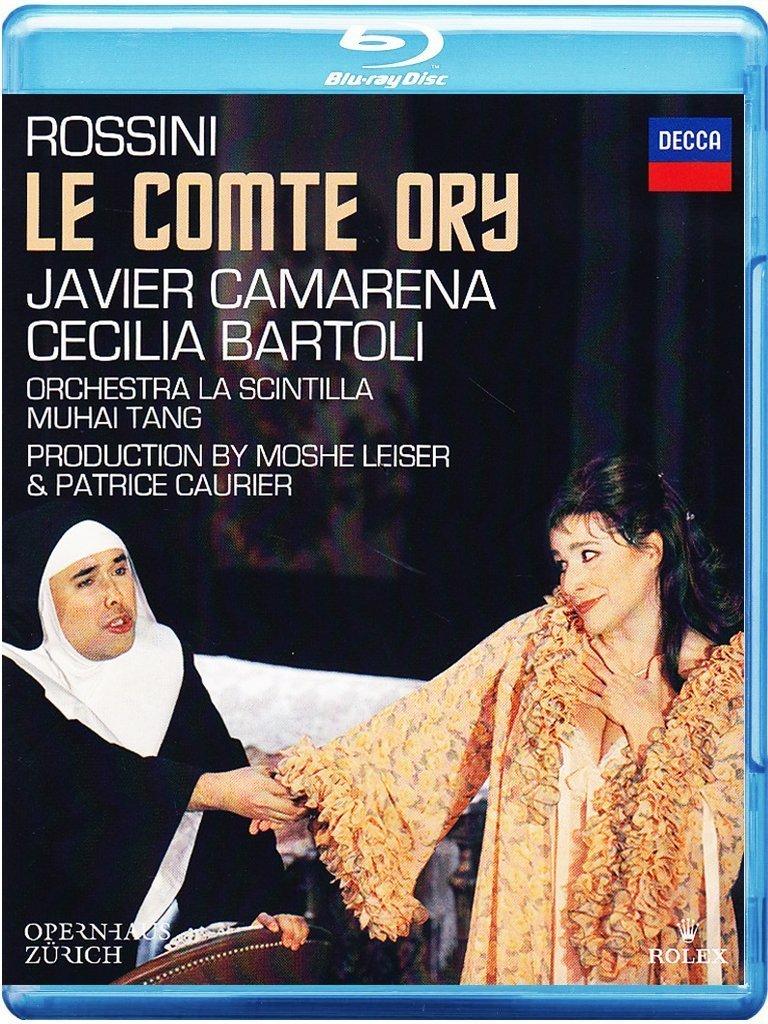 Blu-ray : Cecilia Bartoli - Le Comte Ory (Blu-ray)