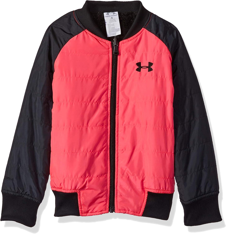 Under Armour Girls Toddler Fleece Jacket 4T Penta Pink Bomber