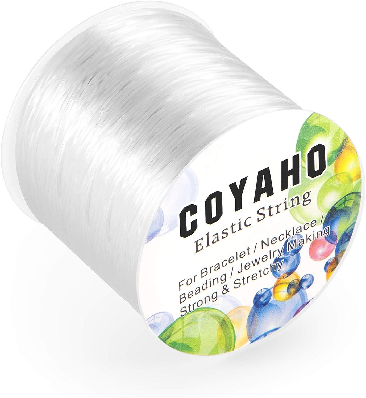 Amazon Com 100m 328ft Stretchy String For Bracelets 1mm Elastic