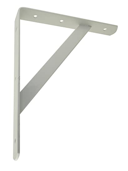 Corner shelf brace Metal Image Unavailable Amazoncom Amazoncom Trisonic Heavy Duty Shelf Bracket Shelf Support Corner