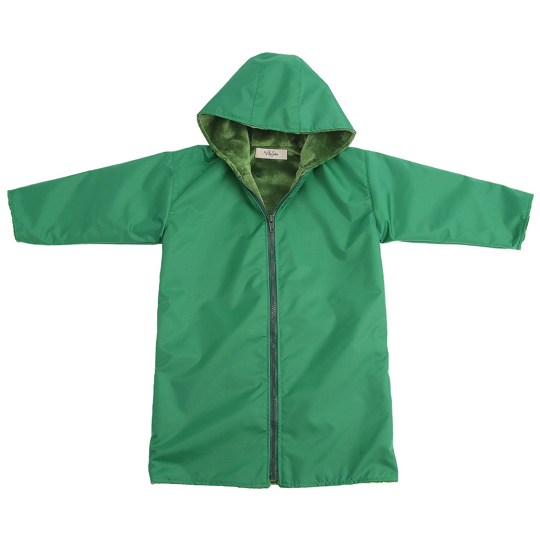 My Blankee Kids Waterproof Hooded Rain Coat Black 6-7 Y