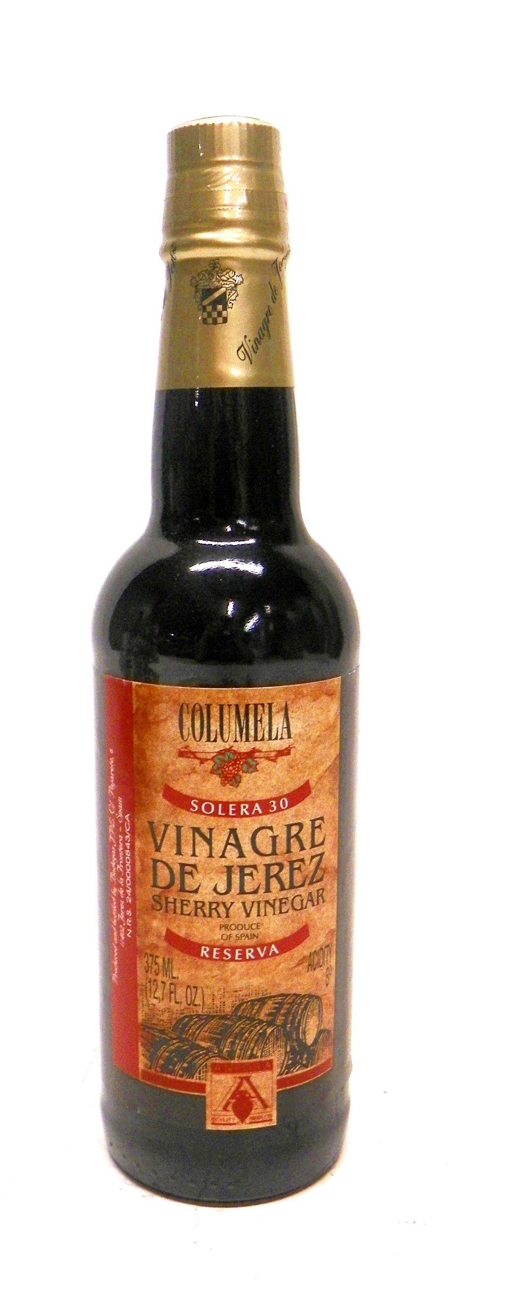 Columela Sherry Vinegar (Solera 3) Reserva, 12-Ounce by Columela
