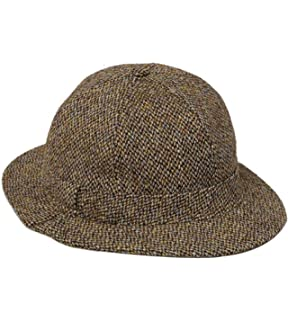 43deaf3ce1c Denton Hats Deerstalker Bucket Hat - Olive Green Small  Amazon.co.uk ...