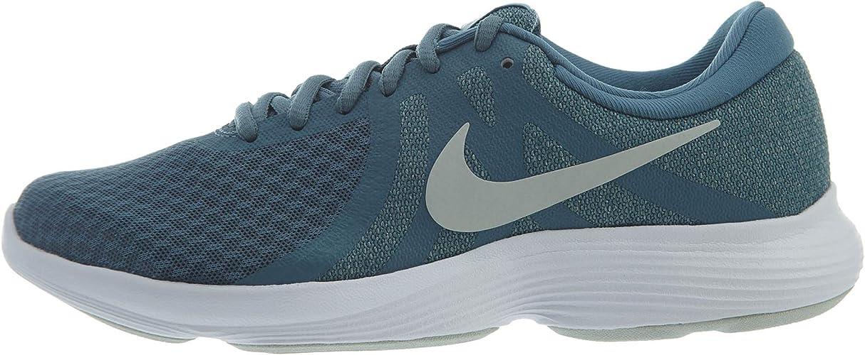 Nike Revolution 4 - Zapatillas Anchas para Mujer, Azul (Celestial ...