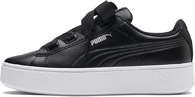 store 100% high quality look good shoes sale PUMA Vikky Stacked Ribbon Core, Baskets Femme: Amazon.fr ...