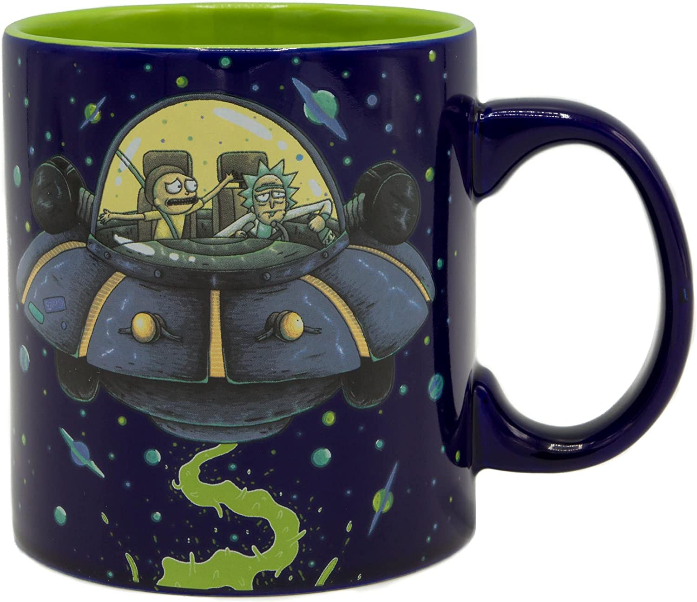 Rick and Morty Wrecked Sanchez Cup Tea Coffee Mug Mugs