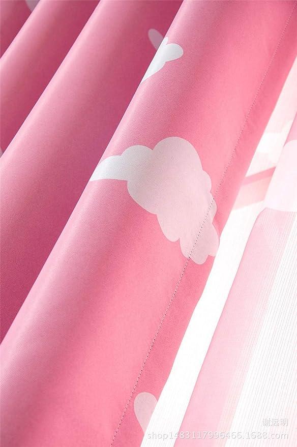 Ancho x Alta Cortinas ZgzCurtain Cortinas de la Ventana Dormitorio de Sala de Estar en el Cielo Azul y Las Nubes Blancas Que Imprimen el apagón Completo Cortinas 2 Piezas 229 x 183 cm