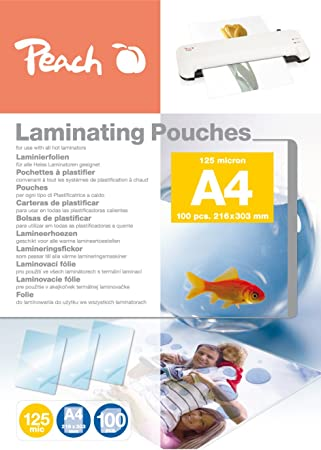 Amazon.com: Peach PP525 – 02 A4 folios: Office Products