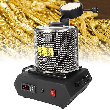 Horno de fusión de oro, Máquina de fundición digital de horno de ...