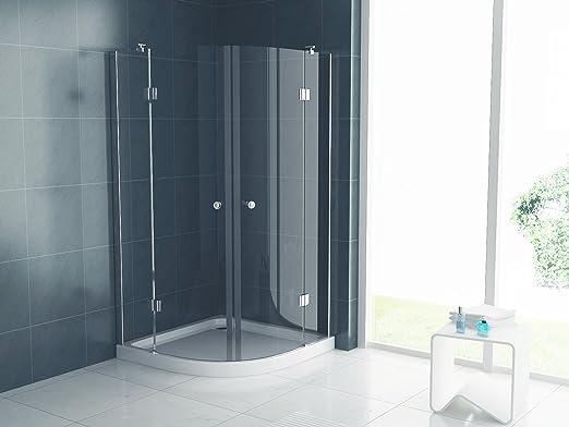 Mampara de ducha de cristal opaco
