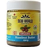 New World Foods Hazelnut Butter Organic 250g
