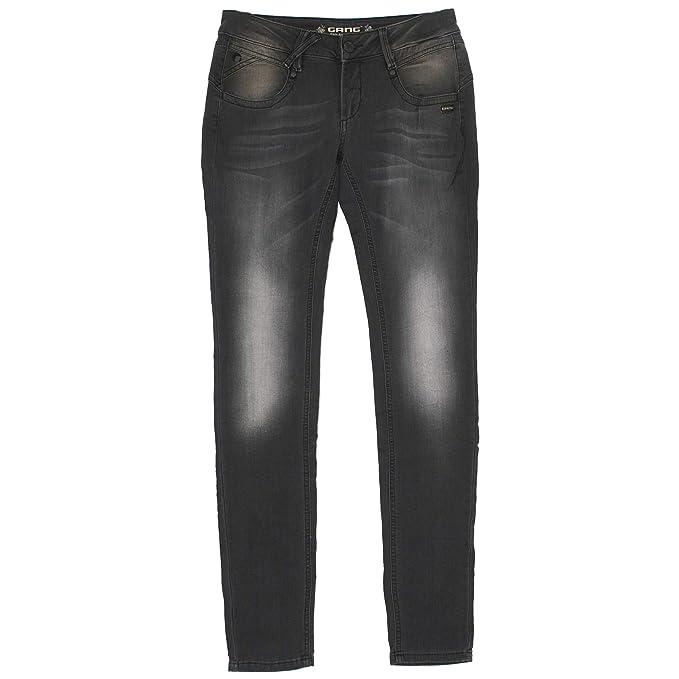 Gang, Damen Jeans Hose, Nena Skinny,Sweatdenim,Grey Used  20955   Amazon.de   Bekleidung 4a02055e44
