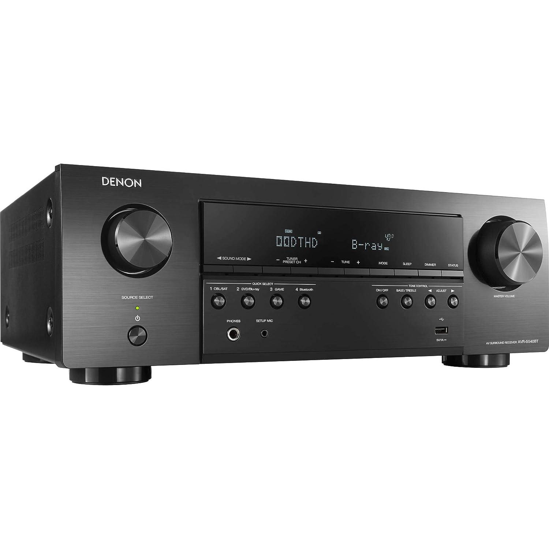 Denon AV Receivers Audio /& Video Component Receiver Black AVRS940H Renewed
