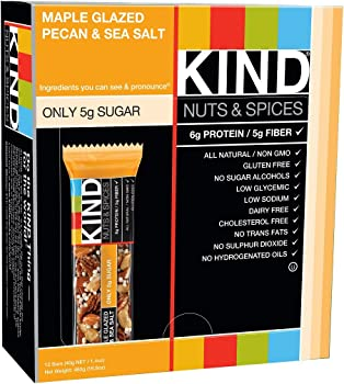 12-Pack KIND Nuts & Spices Bars