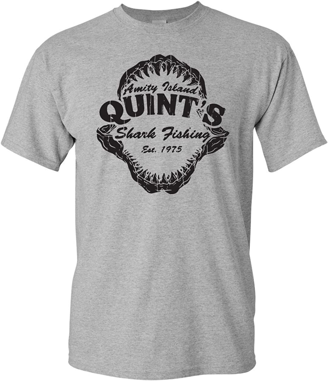 Amity Island Quint's Shark Fishing Est 1975 Men's T-Shirt