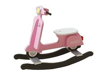 Amazon.com: J.I.P. silla mecedora, diseño de scooter de ...