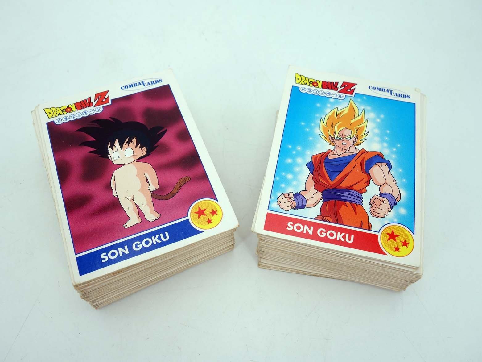 DRAGON BALL COMBAT CARDS CARDS Completa 120 Cartas A Falta ...